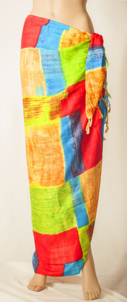 "Sarong ""Colour Patches"""